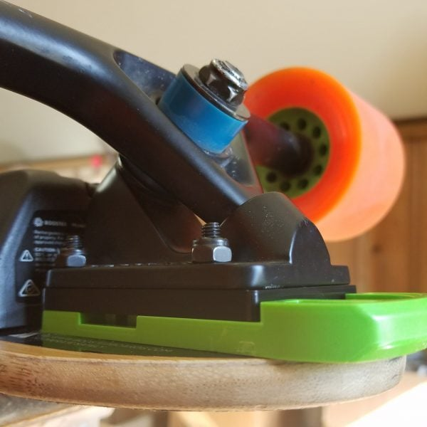 Extended Riser for Boosted Boards