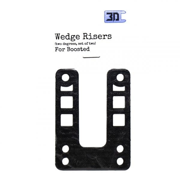 Wedge Riser (set of 2) for Boosted Boards