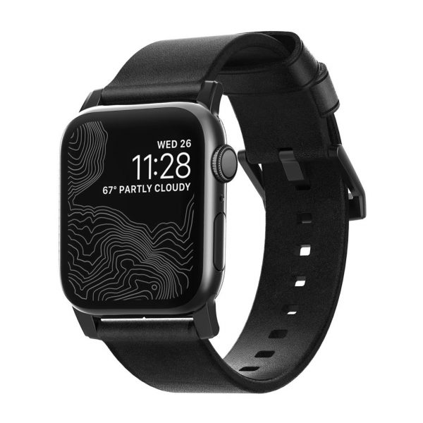 Nomad Apple Watch strap - Modern - Black - Black